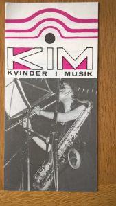 Hvervefolder, KIM, Kvinder i Musik, forår 1987