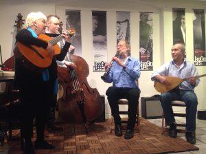 Hele den tyrkiske Musik, KaffeKontra 27.4.14