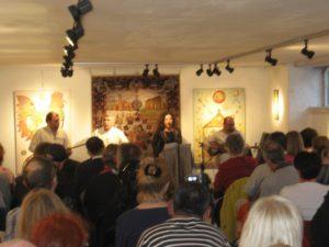 Persisk musik i Galleri Pialeh 17. april 2010