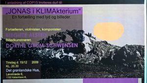 Koncert, JONAS I KLIMAkterium, Det Grønlandske Hus, 12. december 2009
